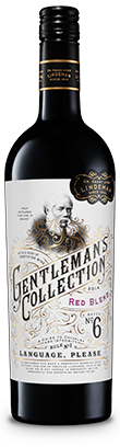 Gentleman's Collection 2014 Red Blend Batch number 6 A guide to chivalry and integrity Rule number 1 Language, please